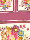 Little Folks Voile Panel VAH08-Berry Voile Fabric by Anna Maria Horner