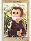 Monkey Business-Hand & Finger Puppets Pattern by Favorite Things