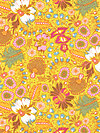 Little Folks Voile VAH01-Citrus Voile Fabric by Anna Maria Horner