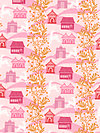 Little Folks Voile VAH03-Berry Voile Fabric by Anna Maria Horner
