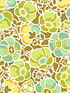 Wildwood EM13-Green Fabric by Erin McMorris