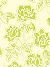 Pop Garden HB06-Ivory Fabric by Heather Bailey