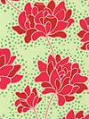 Pop Garden HB07-Green Fabric by Heather Bailey