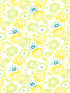 Nicey Jane HB13-Dandelion Fabric by Heather Bailey