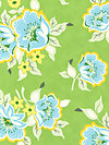 Nicey Jane HB20-Green Fabric by Heather Bailey