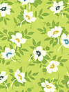 Nicey Jane HB21-Grass Fabric by Heather Bailey