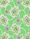 Daisy Chain AB41-Green Fabric by Amy Butler
