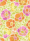 Wildwood EM13 Orange Fabric by Erin McMorris
