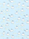 Out To Sea DC5621-BREE Fabric by Sarah Jane