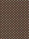 Michael Miller Dots and Stripes CX2490-BROW Fabric by Kathy Miller