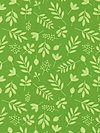 Zoofari Organic Cotton OC3031-Green Organic Fabric by doodlebug design