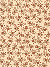 Zoofari Organic Cotton OC3032-Brown Organic Fabric by doodlebug design