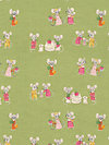 Nursery Versery JG55300-300B Linen Fabric by Heather Ross