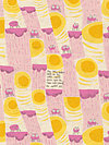 Nursery Versery JG55300-301A Linen Fabric by Heather Ross