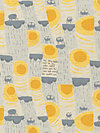 Nursery Versery JG55300-301B Linen Fabric by Heather Ross