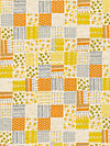 Nursery Versery JG55300-302B Linen Fabric by Heather Ross