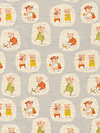 Nursery Versery JG55300-303C Linen Fabric by Heather Ross