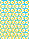 Notting Hill PWJD062-Aquamarine Fabric by Joel Dewberry