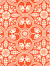 Notting Hill PWJD068-Tangerine Fabric by Joel Dewberry