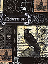 Nevermore Collection DC5522-BLAC Fabric by London Portfolio