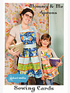 Mommy & Me Aprons Sewing Card by Valori Wells Designs