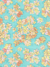 Cosmos Collection CJ5685-PEAC Fabric by Laura Gunn