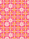 Notting Hill Voile VOJD007-Tangerine Voile Fabric by Joel Dewberry