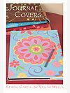 Journal Covers Sewing Card by Valori Wells