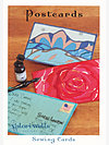 Postcards Sewing Card by Valori Wells Designs