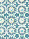 Flutter C3132-Blue Fabric by The Quilted Fish