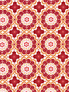 Flutter C3132-Red Fabric by The Quilted Fish