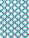 Flutter C3133-Blue Fabric by The Quilted Fish