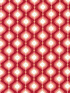 Flutter C3133-Red Fabric by The Quilted Fish