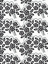 Mystique C3082-White Fabric by Lila Tueller