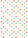 Life in the Jungle Flannel F3163-White Flannel Fabric by doohikey designs