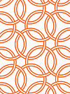 Bekko WS5726-ORAN Home Dec Fabric by Trenna Travis