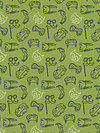 Let's Pretend DC5819-GREE Fabric by Sarah Jane