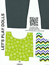 Let's Play Dolls A-7094-P Fabric by Firetrail Designs