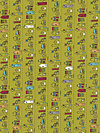 Road 15 5522-13 Fabric by Sweetwater