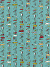 Road 15 5522-14 Fabric by Sweetwater
