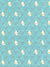 By the Sea DC5986-AQUA Fabric by London Portfolio