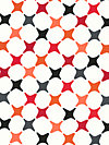 Poppy Modern A-6073-R Fabric by Jane Dixon