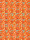 Bridgette Lane PWVW062-Cherry Pumpkin Fabric by Valori Wells