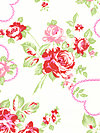 Valentine Rose PWTW083-Pink Fabric by Tanya Whelan