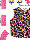 Let's Play Dolls A-7095-E Fabric by Firetrail Designs