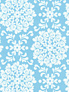 Priscilla C3363-Blue Fabric by Lila Tueller
