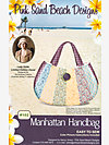 Manhattan Handbag by Pink Sand Beach Designs