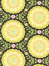 Helen's Garden DC6191-MINE Fabric by Tamara Kate