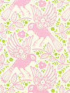 Up Parasol PWHB047-Pink Fabric by Heather Bailey