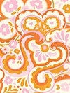 Up Parasol PWHB048-Persimmon Fabric by Heather Bailey